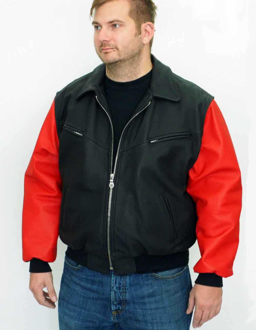 Motorcycle Jackets leather Mod. Flieger Jacke