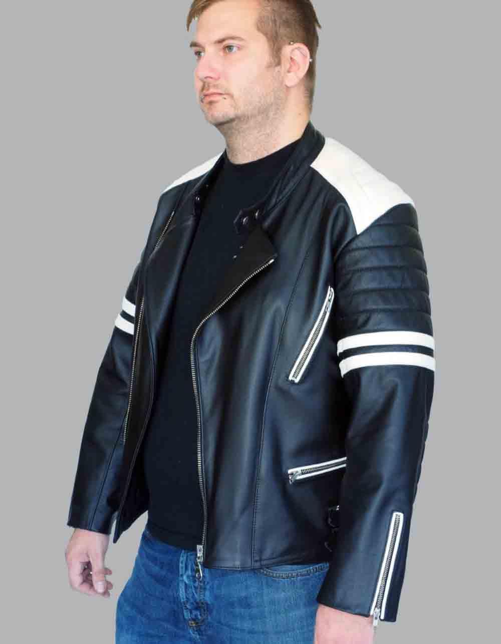 Motorcycle Jackets leather Mod. Leon Jacke
