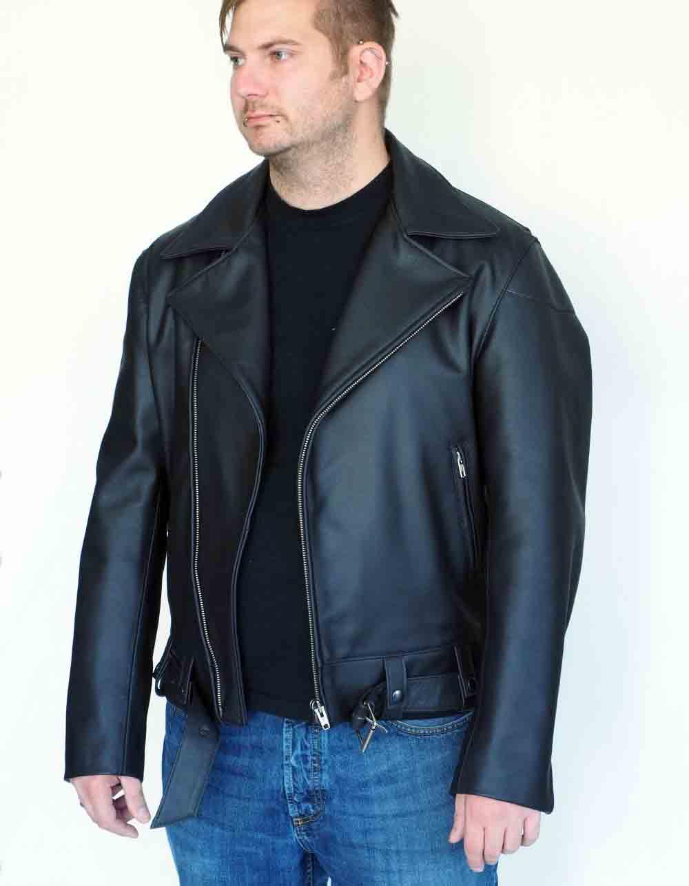 Motorcycle leatherjackets Mod. Californische Police Jacke