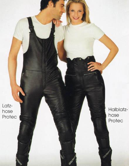 Motorradbekleidung Latzhose nach Maß