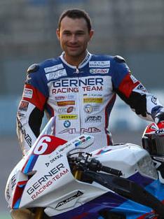 IDM Rennfahrer Johannes Kanzler von Gerner Racing