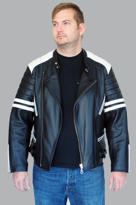 Motorrad Lederjacke Leon