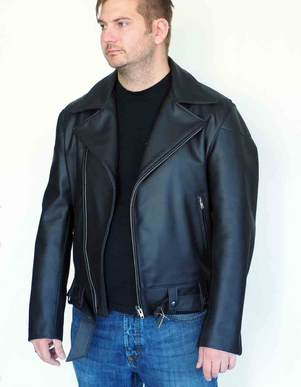 Motorcycle leatherjackets Mod. Californische Police Jacke