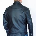 Motorrad Lederjacke US Policejacke Maßanfertigung