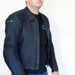 Streetfighter Motorrad Lederjacke schwarz
