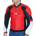 Streetfighter Motorrad Lederjacke mit Protektoren